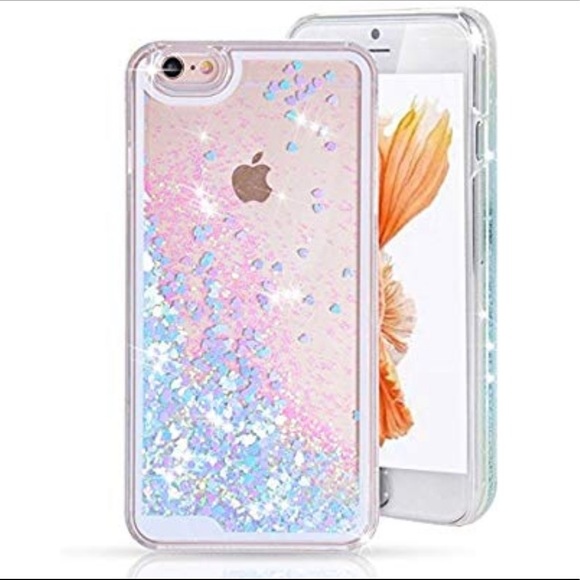 detailed look 81b08 5bbe9 For IPhone 6/7/8 Floating Glitter Case Boutique